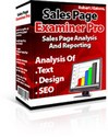 Thumbnail Sales Page Examiner Pro- Sales Page Analysis And Reporting