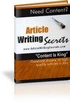 Thumbnail Article Writing Secrets
