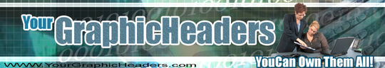Pay for 40 Professional Header Graphics