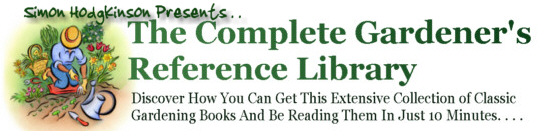 Pay for The Complete Gardener´s Reference Library