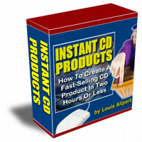 Pay for Instant CD Products - Create CD Products In Two Hours Or Les