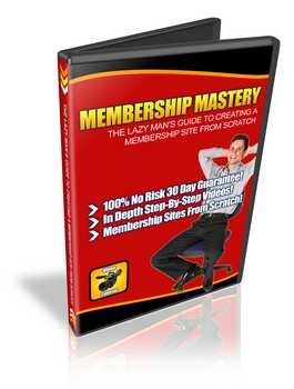 Pay for Membership Mastery - Lazy Man´s Guide To Create A Membership