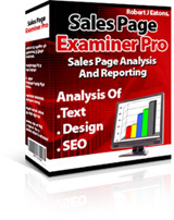 Pay for Sales Page Examiner Pro- Sales Page Analysis And Reporting