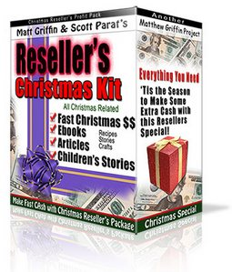 Pay for Resellers Christmas Kit : Graphics, Children Stories Ebook,