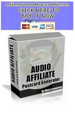 Pay for Audio Affiliate Postcard Generator