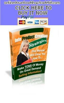 Pay for Info Product Creation Strategies