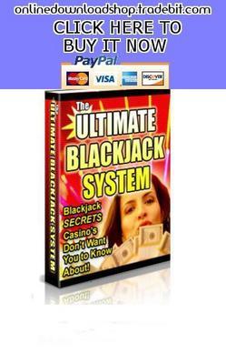 Pay for Ultimate Blackjack System