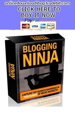 Pay for Blogging Ninja