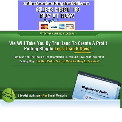 Pay for Create A Profit Pulling Blog