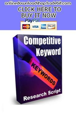Pay for Competitive Keyword Research