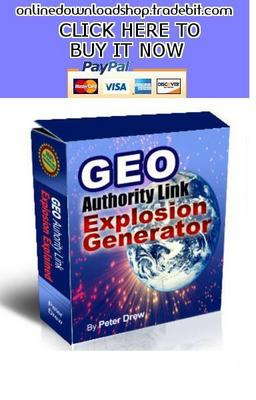 Pay for GEO Authority Link Explosion Generator
