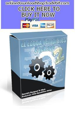 Pay for Ez Ebook Templates Package