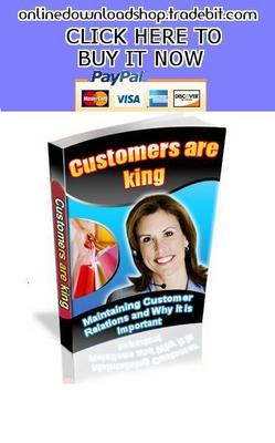 Pay for Customers are King