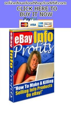 Pay for ebay Info Products