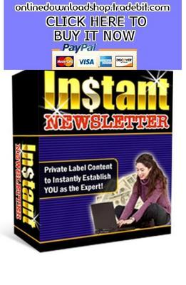 Pay for Instant Newsletter