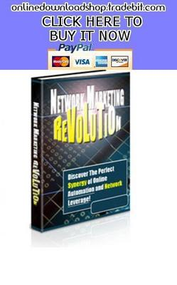 Pay for Network Marketing Revolution