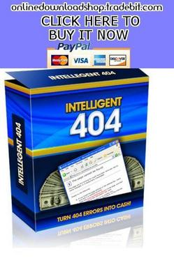 Pay for Turn 404 Errors Into Cash