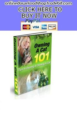 Pay for Owning A Cat