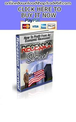 Pay for How To Profit From An Economic Recession
