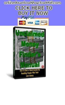 Pay for Unclaimed Money Finder