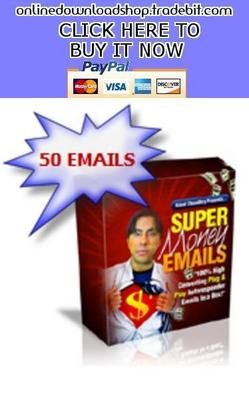 Pay for Super Money Emails In A Box