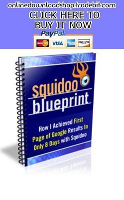 Pay for Squidoo Blueprint