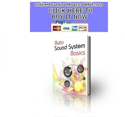 Pay for Auto Sound System Basics