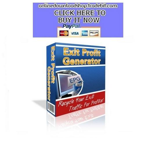 Pay for Exit Profit Generator