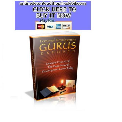 Pay for Personal Development Gurus Exposed