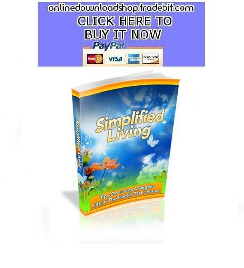 Pay for Simplified Living