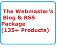 Thumbnail The Webmasters Blog & RSS Package Ready Made Business Website