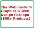 Thumbnail The Webmasters Graphics & Web Design Package  (800+ item)