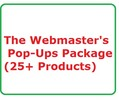 Thumbnail Webmaster's Pop-Ups Package Work at Home, Home Jobs, Make Money Online Websites
