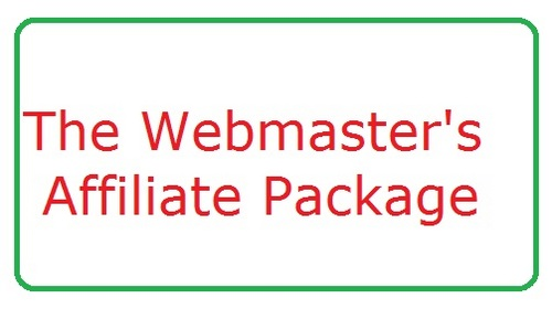 Pay for The Webmaster   Affiliate Package   (190+ Products)