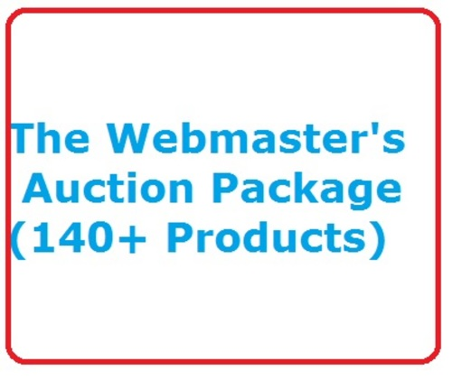 Pay for eBay Auction Package :The Webmasters Auction Package