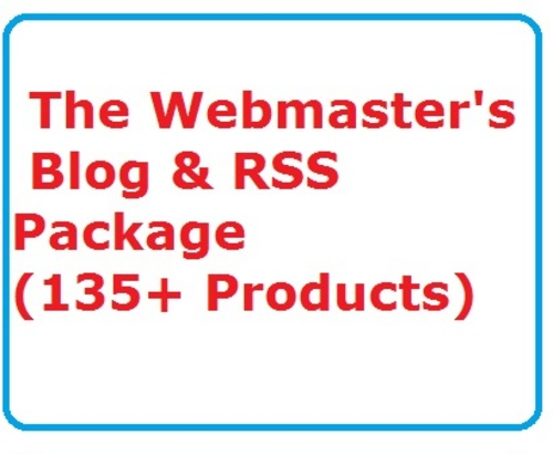 Pay for The Webmasters Blog & RSS Package Ready Made Business Website
