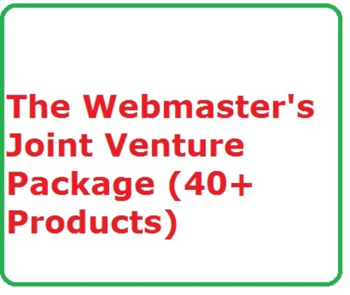Pay for Webmaster´s Joint Venture Package Ready Made Turnkey Website Business Home Jobs