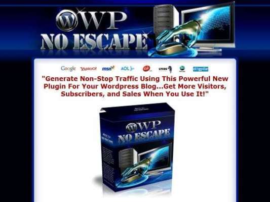 Pay for Get The Awesome No Escape Wordpress Plugin for Dirt Cheap
