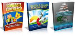 Thumbnail 3 PLR eBook Concrete Confidence,Health&Wealth Magnetism,Achieve Prosperous