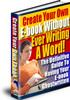 Thumbnail Create Your Ebook PLR
