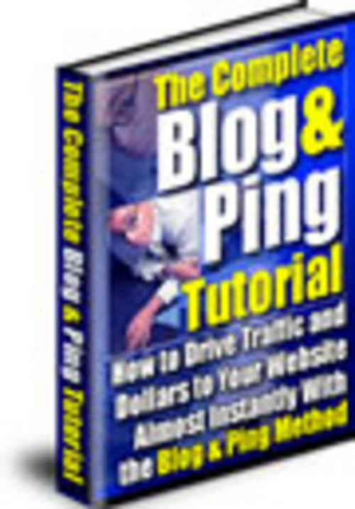 Pay for The Complete Blog & Ping Tutorial