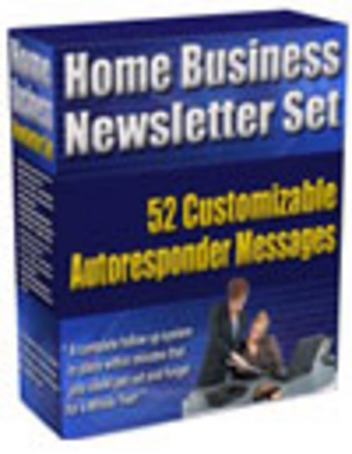 Pay for 52 Home Business Newsletter