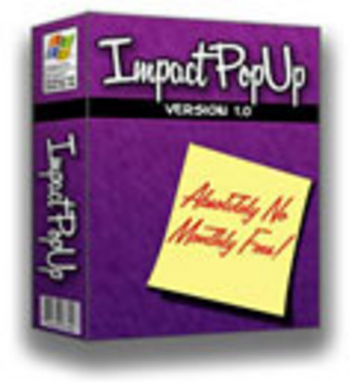 Pay for Impact Popup