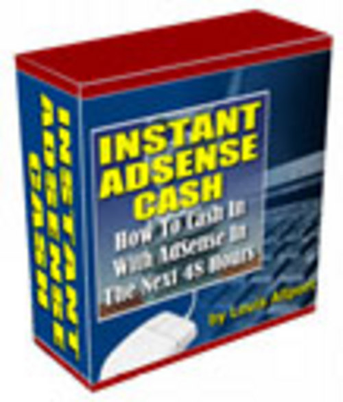 Pay for Instant Adsense Cash