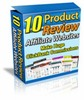 Thumbnail 10 Product Review Affiliate Websites with MRR