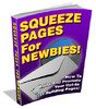 Thumbnail Squeeze Pages For Newbies with PLR