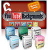 Thumbnail Youtube backgrounds with PLR