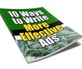 Thumbnail 10 Ways to Write More Effective Ads with PLR