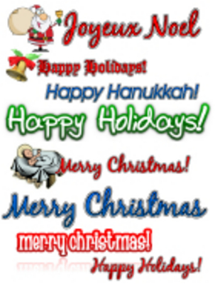 Pay for Holiday Clipart Collection - MRR