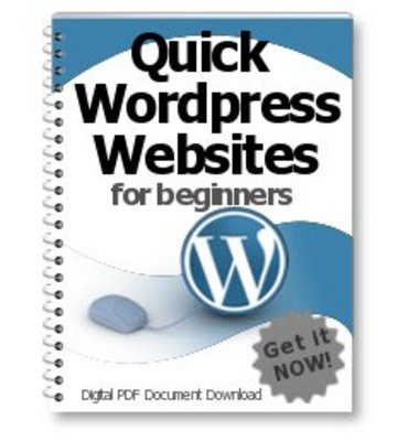 Pay for Quick Wordpress Websites for Beginners PLR